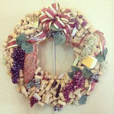 rustic wine cork wreath wreaths wine cork wreath cork wreath and wine corks