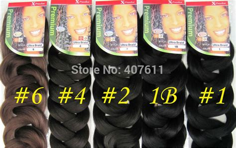 what does expression braiding hair look like xpressions kanekalon braiding hair promotionshop for
