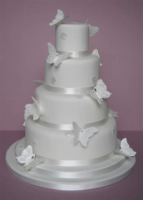 Cake Decorations Wedding by Wedding Cakes Pictures Butterfly Wedding Cake Decorations
