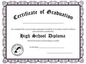 Blank Diploma Templates by High School Diploma Template Images