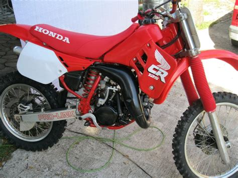 Honda Cr125 For Sale by 1988 Cr 125 Motorcycles For Sale