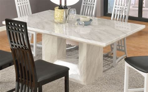 White Marble Kitchen Table White Marble Dining Table Thejots Net