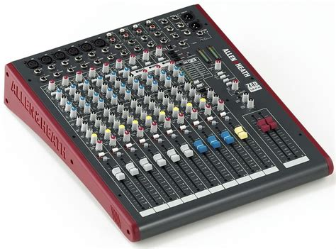 Mixer Allen Heath Zed 12 new allen heath zed 12fx 12 channel recording mixer with usb connection fx