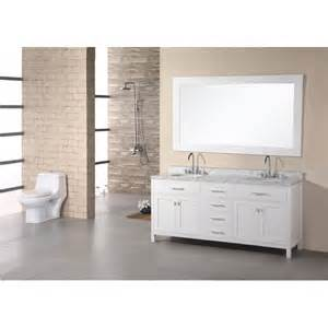 design element dec076b 2 72 inch pearl white finish