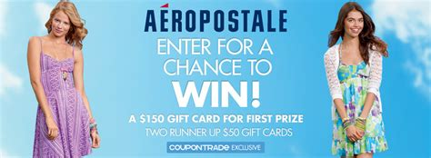 Discount Aeropostale Gift Cards - aeropostale gift card give away win 1 of 3 aeropostale gift cards