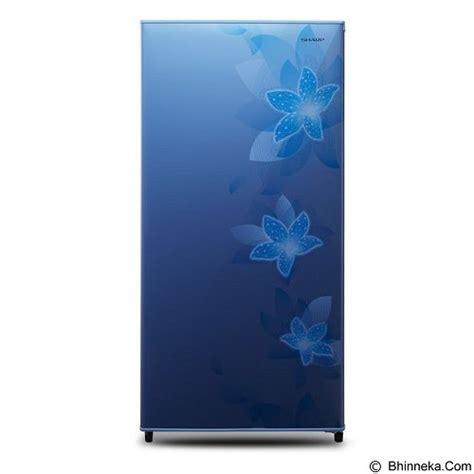 Kulkas Sharp Flower jual sharp kulkas 1 pintu sj n181d fb flower blue murah bhinneka