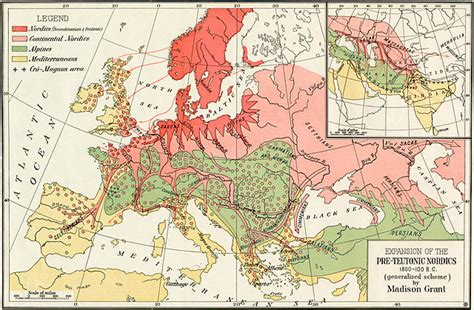 the racial elements of european history books file passing of the great race map 2 jpg wikimedia commons