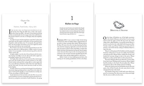 book layout chapter the book interior design portfolio of williams writing