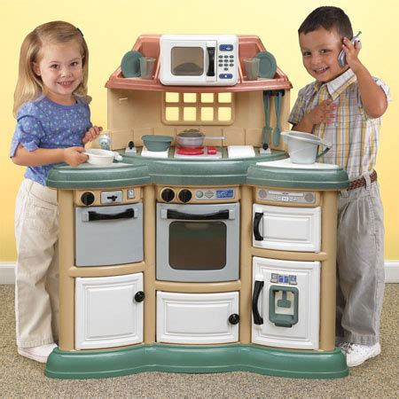 Homestyle Play Kitchen Reviews by Homestyle Play Kitchen Gives Real Cooking Experience To