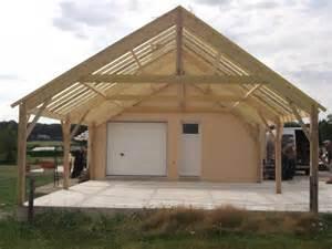 Plans For Pergolas by Garage De Voiture Mc Timonier Fabrication Charpente En Kit
