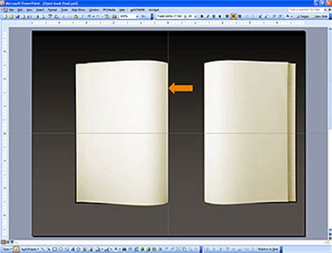 An Open Book In Powerpoint Book Animation Template
