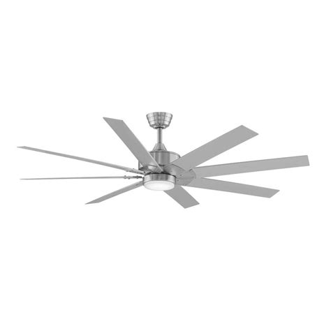 fanimation levon 63 inch brushed nickel ceiling fan energy ceiling fans with light taraba home review