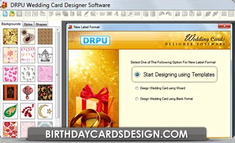 free wedding card software marriage invitation cards create cards create