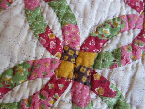 Wedding Ring Patchwork Quilt - handmade quilts wedding ring quilt patchwork quilt