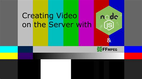 node js video streaming tutorial creating video on the server in node js dzone web dev