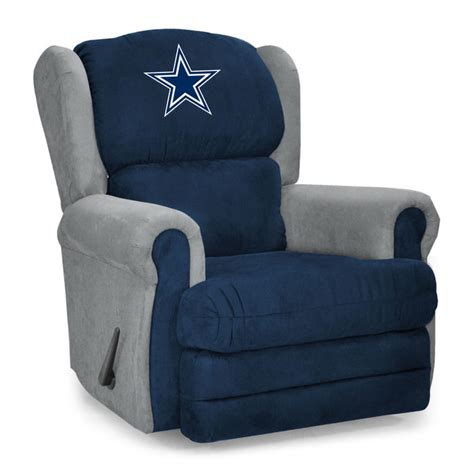 dallas recliner chair dallas cowboys recliner cowboys leather recliner cowboys