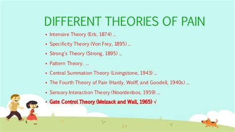 pattern theory pain pain theories of pain