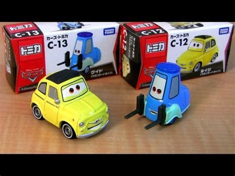 Tomica The Cars C 13 Original tomica disney cars luigi and guido diecast takara tomy c