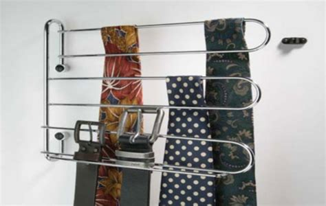 Belt And Tie Rack by Swivel Tie And Belt Rack Architectural Ironmongery Sds