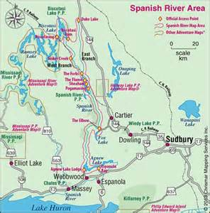 chrismar spanish river map outdoors oriented