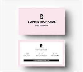 20 pink business cards free psd eps ai indesign word pdf format free