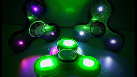 Fidget Spinner Spiner Fidget Spinner Led Spinner Fidget 1 led lighted fidget spinner