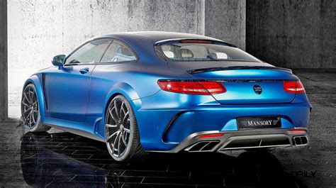 mansory cars 2015 2015 mansory s63 widebody coupe