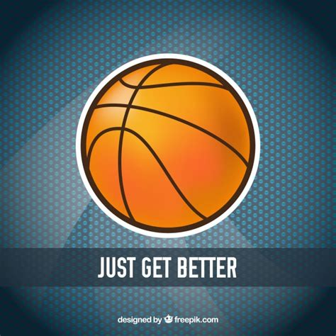 Sticker Image Bola basketball sticker background vector free