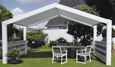 pavillon 2 5x3m leco metall pavillon sommer residenz 5x3m markise