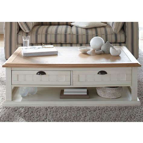 Table Basse Jardin Metal Blanc
