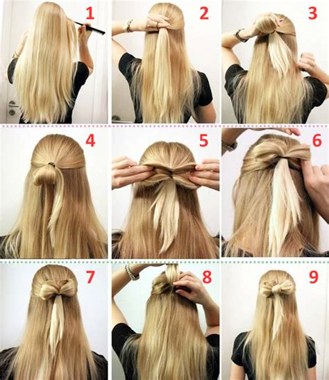 how to make easy hairstyles with pictures 10 quick and easy hairstyles step by step the learnify