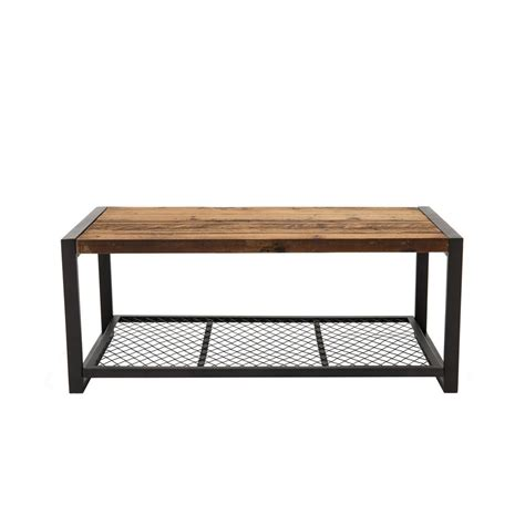 home decorators coffee table home decorators collection gentry distressed oak coffee