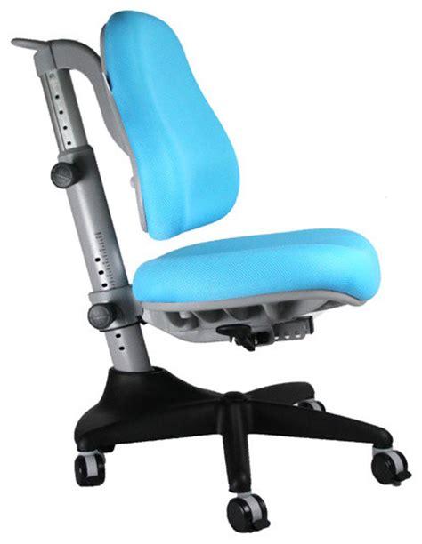 posturedesks scholar desk chair blue