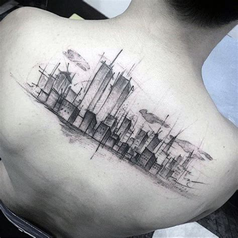 city skyline tattoo designs 60 new york skyline designs for big apple ink