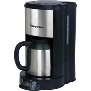 Hamilton Beach K Cup Magic Chef 12 Cup Coffee Maker Appliances Walmart Com