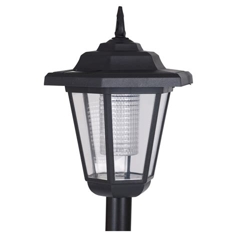 Lantern Solar Lights Outdoor Solar Powered Garden Lights Lantern L Black Led Pathway Driveway Outdoor Post Ebay
