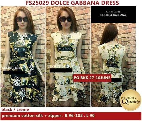 Harga Baju Dolce And Gabbana d g dress supplier baju bangkok korea dan hongkong