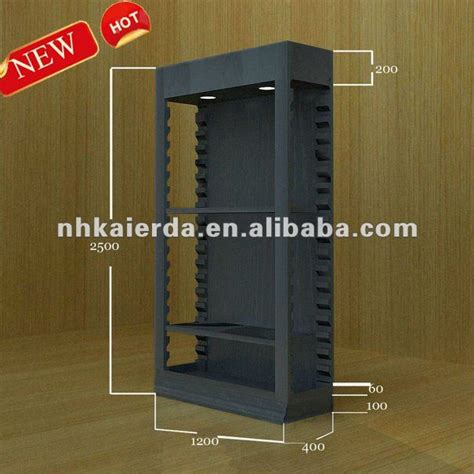 Store Rack Price Factory Price Retail Wood Wall Display Rack Clothes Wall