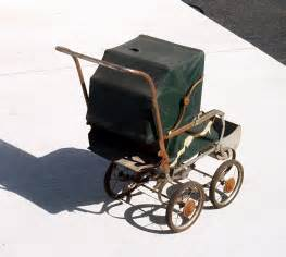 vintage antique baby carriage doll carriage stroller