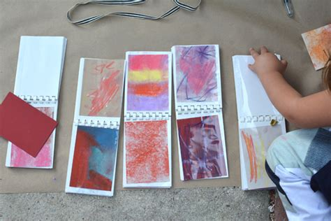 the art book mini create mini art books for kids meri cherry
