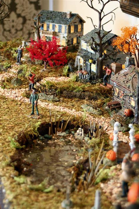 dirt cheap decor halloween village platform