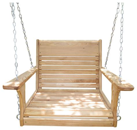 swing chair wooden adult chair swing with hanging kit traditional