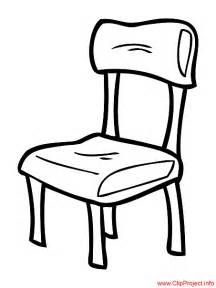 Chair Table And Chairs Cartoon sketch template