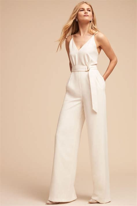 Wedding Dress Jumpsuit by Bridal Jumpsuits 2018 Popsugar Fashion