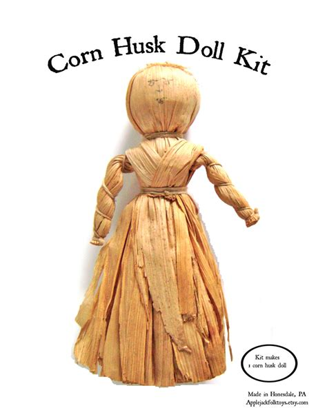 corn husk dolls corn husk doll kit