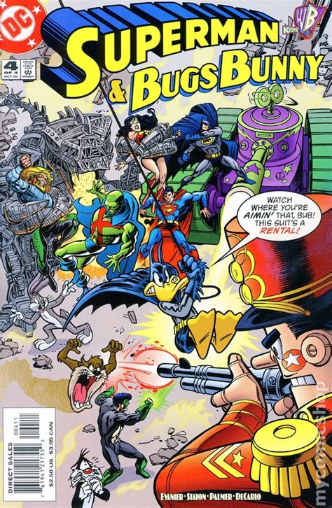 dc meets looney tunes superman and bugs bunny 2000 comic books