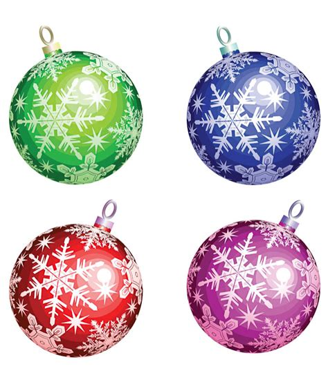 christmas tree balls vector vector graphics blog