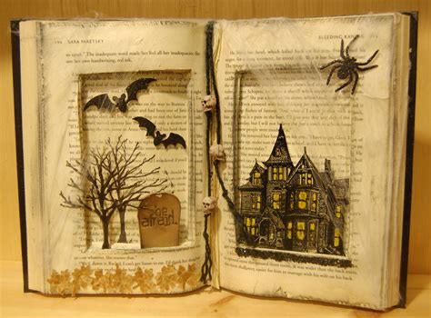 halloween story themes paper anthology 187 blog archive altered spooky book