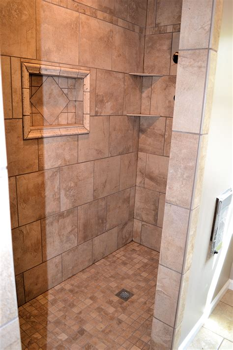 Master Bathroom With Walk In Shower Walk In Shower Master Bath Ak Britton Construction Llc