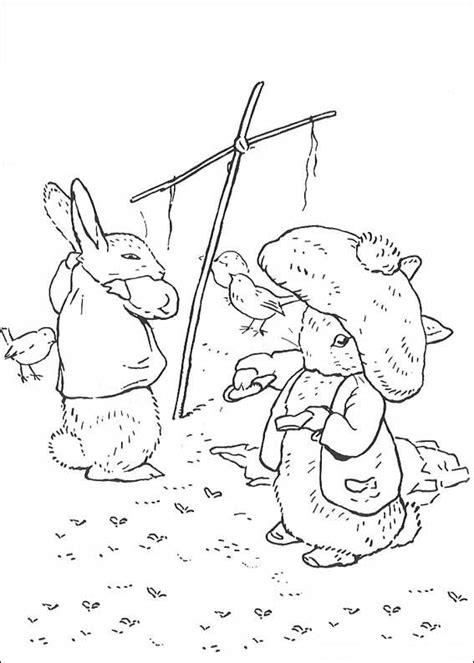 benjamin bunny coloring pages kids n fun 29 kleurplaten van pieter konijn